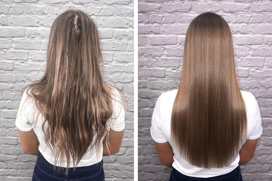 Olaplex före och efter 2